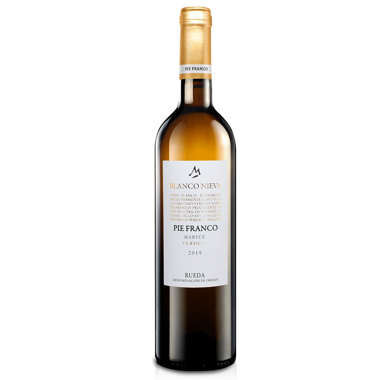 Martúe Blanco Nieva Pie Franco Vino Blanco Verdejo D.O. Rueda - Botella x 750 ml