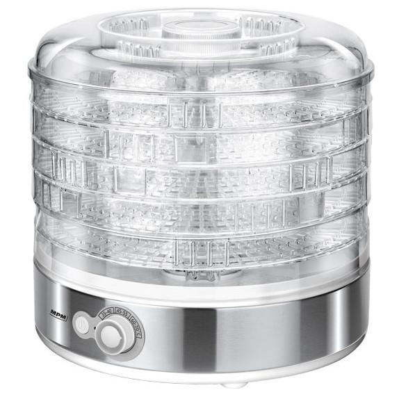 PM MSG-11 Deshidratador alimentos, frutas y verduras, control de temperatura (35°C-70°C), 5 bandejas libres de BPA de 31cm ajustable en altura, 500W