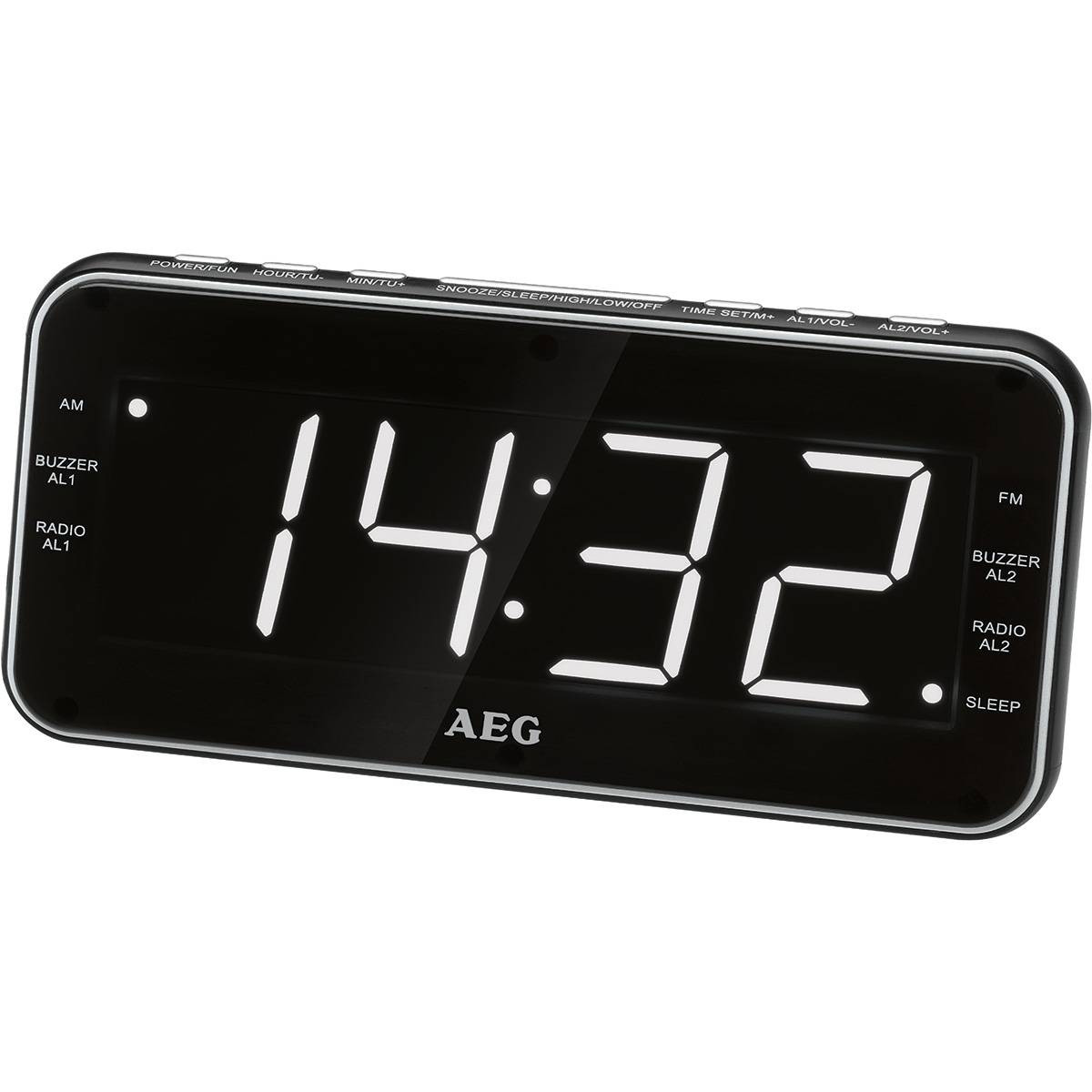 AEG MRC 4157 - Radio despertador digital con USB