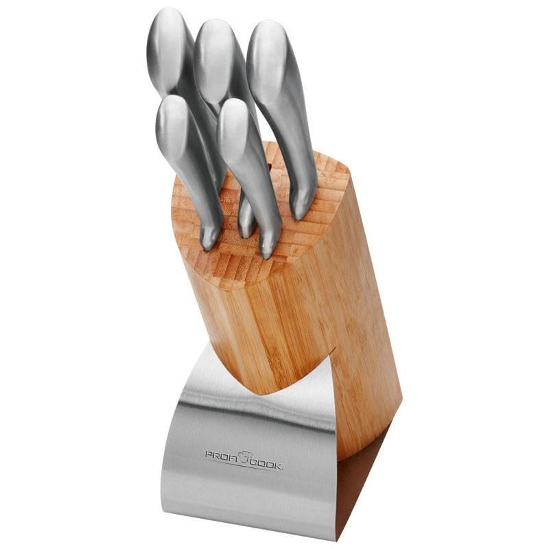 Proficook Tacoma de 5 Cuchillos en acero inoxidable MBS1055