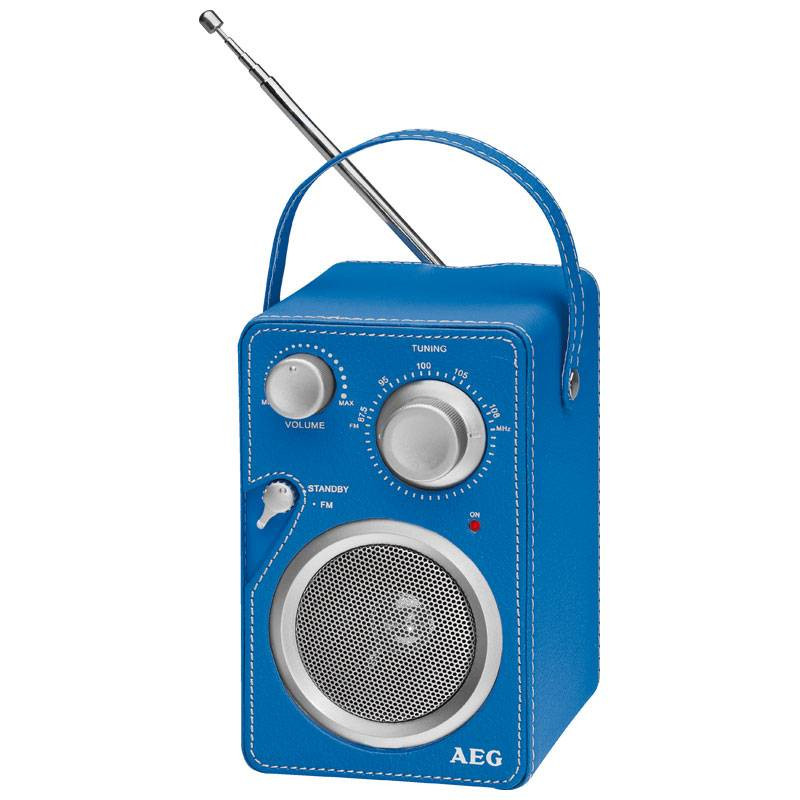 AEG Radio de Diseño MR 4144 Azul