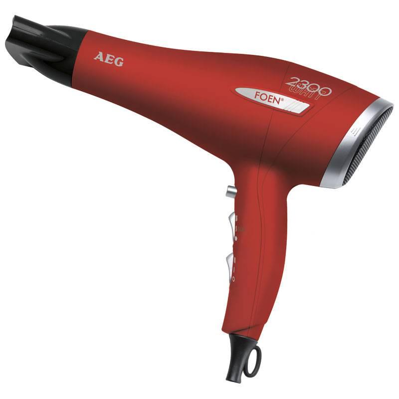 AEG Secador de Pelo HT 5580 rojo