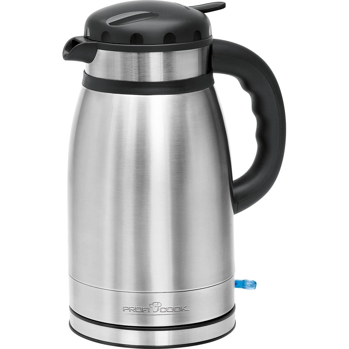 Proficook Hervidor de agua jarra termo 1,5 litros WKS 1148