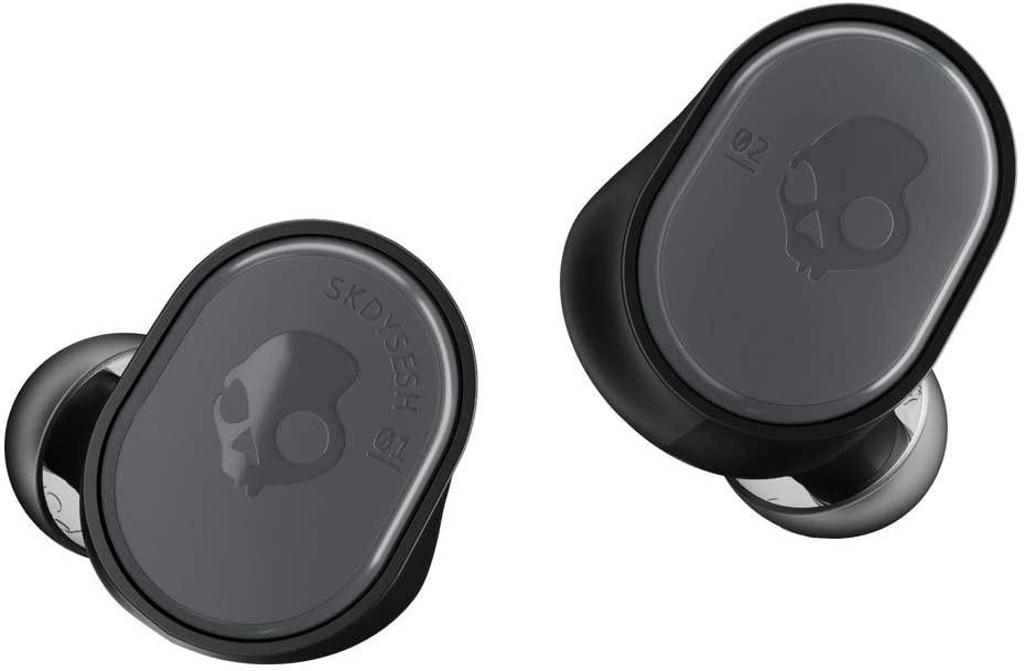 Skullcandy Sesh True Auriculares inalámbricos con Funda de Carga, Tecnología Bluetooth y Micrófono