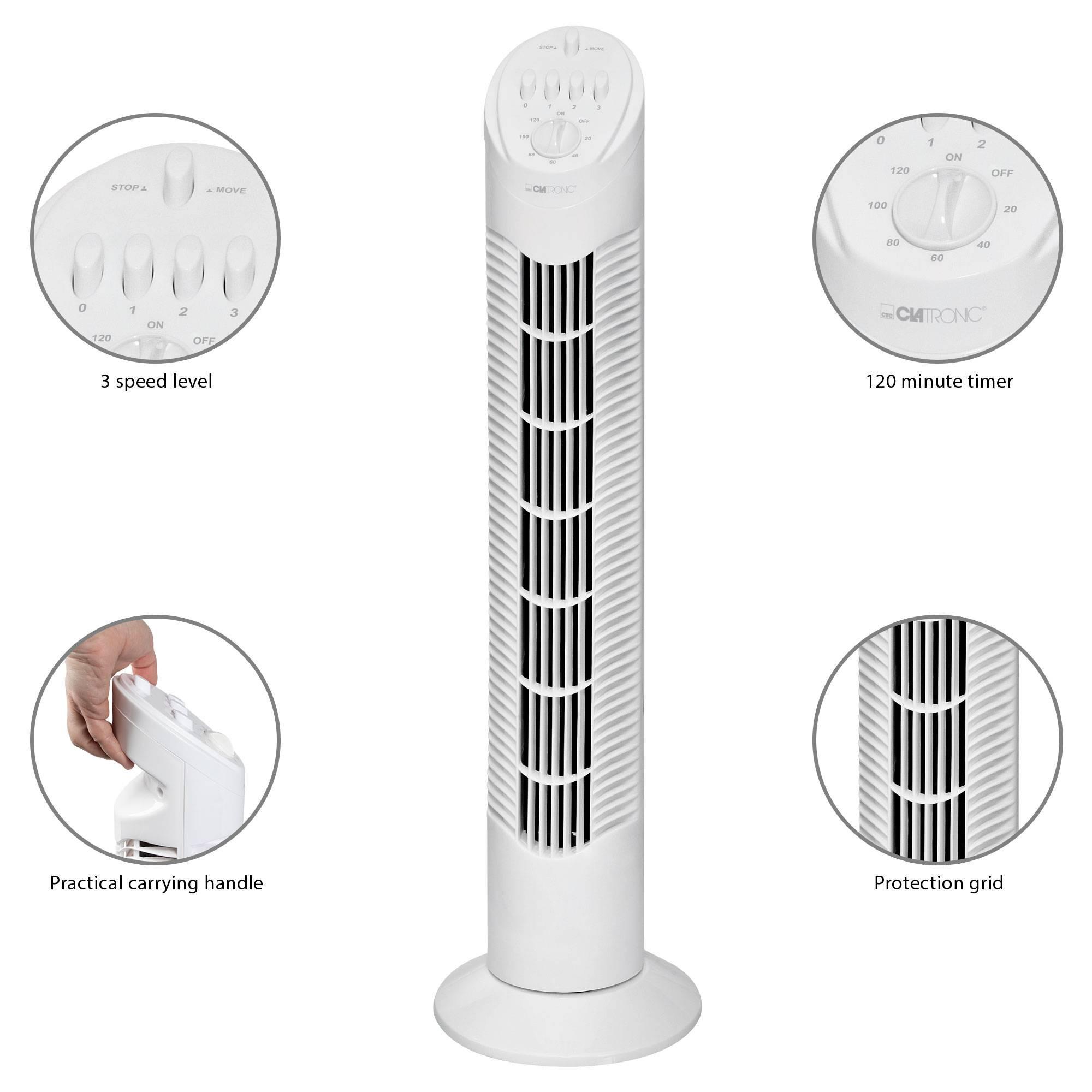 Clatronic Ventilador de Torre TVL 3546