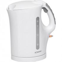 Bomann WK 5011 - Hervidor de agua eléctrico, capacidad de 1,7 l, 2200 W, color blanco ?>