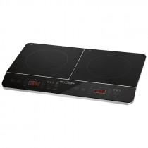 Proficook DKI 1067 - Placa de inducción doble portátil, 10 niveles de temperatura, 3500 W ?>