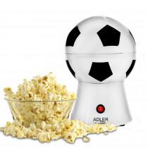 Adler AD 4479 Palomitero | Maquina de Palomitas de maíz, Aire Caliente Sin Grasa Aceite, Forma de Balón de futbol, Eléctrica, 1200W ?>