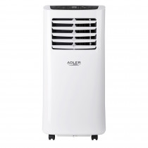 Adler AD7909 Aire Acondicionado Portátil, Control Remoto, Temporizador, Control de temperatura, Pantalla LED, Oscilante, 2000W ?>