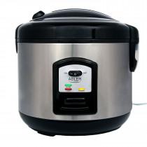 Adler AD6406 Arrocera cocedero de arroz, 1,5 litros, función mantenimineto de calor, apagado automatico, acero inoxidable ?>