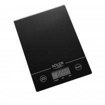 Adler AD3138B Báscula de Cocina Digital, 5 kg, pasos 1 g, Función Tara, Negra ?>
