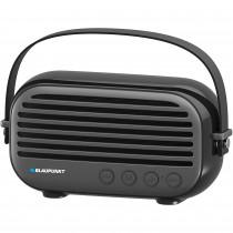 Blaupunkt BLP3350N Altavoz Bluetooth, Vintage, Radio Fm, USB, MICRO SD, AUX, Portátil, Potencia Sonido 10W, Inalámbrico, Manos Libres, Negro ?>