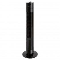 Clatronic TVL 3770 Ventilador de Torre Silencioso, Temporizador, Oscilante, 3 Velocidades, 78 cm, Negro ?>