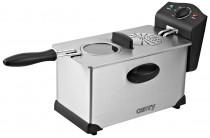 Camry CR 4909 Freidora eléctrica compacta 3 litros cubeta desmontable lavable antiadherente, regulador hasta 190°C, 2000W ?>