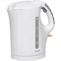 Bomann WK 5024 - Hervidor de agua eléctrico, capacidad de 1 l, 900 W, color blanco ?>