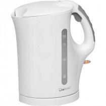 Clatronic WK 3445 - Hervidor de agua eléctrico, capacidad de 1,7 l, 2200 W, color blanco ?>