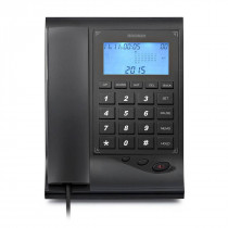 Brondi Teléfono fijo con display GILMOR negro ?>