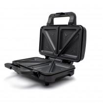 MPM MOP-20M Sandwichera eléctrica para 2 sandwiches, placas antiadherentes en forma de triángulo, acabado acero inoxidable, 900W ?>