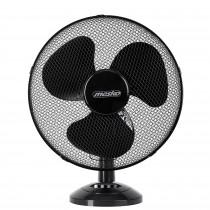 Mesko MS 7308 - Ventilador portátil de sobremesa oscilante, 2 velocidades, 23cm, negro, 45W ?>