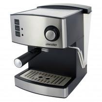 Mesko MS 4403 Cafetera Expreso manual 15 bares, depósito 1,6L, brazo doble salida, vaporizador para espumar leche, calienta tazas, cuerpo acero inoxidable 850W ?>