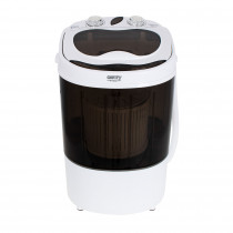 Camry CR8054 Mini Lavadora Centrifugadora Portátil, 3Kg lavado ropa, 1Kg Centrifugado, Pequeña Perfecta Camping, Caravanas y Autocaravanas, Programa Lavado Corto, Ahorra Agua y Energía ?>