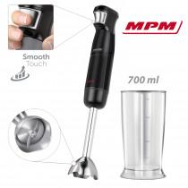 MPM MBL-30 Batidora de mano 1200W, regulador electrónico de velocidad, varilla extra larga de acero inoxidable negra ?>