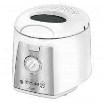 MPM MFR-07 Freidora eléctrica compacta 1,5 litros cubeta desmontable lavable antiadherente, regulador hasta 190°C, libre BPA, 1100W ?>
