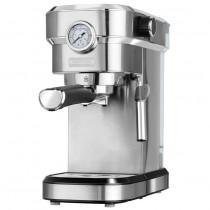 MPM MKW-08M Cafetera express 20 bares, para realizar café espresso y cappuccino, vaporizador para espumar leche, calienta tazas ,acabado acero inoxidable, depósito de agua 1,2 L desmontable ?>