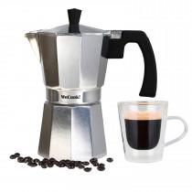 Wecook Paola Cafetera Italiana de aluminio express,6 tazas café ?>