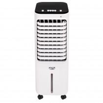 Adler AD 7913 Climatizador Evaporativo 3 en 1 Enfriador de Aire, Humidificador, Purificador de aire, 3 Modos de Ventilador, Oscilante, Depósito de agua 12 Litros, Air Cooler, 350W