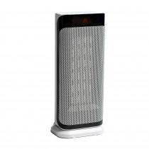 ADLER AD 7723 Calefactor de Torre Cerámico, Portátil, Termoventilador, Mando a Distancia, Temporizador, Pantalla LCD, Programable, Selector Temperatura 10 a 35°C, Termostato, Oscilante, 2000W