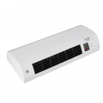 ADLER AD 7714 Calefactor Cerámico de Pared Split, Sensor Ventanas Abiertas, Temporizador Semanal, Termostato Digital 7-38 °C, Función Ventilador, Mando a Distancia, 2200W