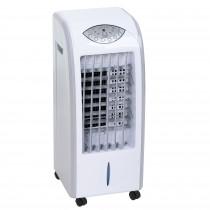 Adler AD 7915 Climatizador Evaporativo 3 en 1 Enfriador de Aire, Humidificador, Purificador de aire, 3 Modos de Ventilador, Oscilante, Depósito de agua 7 Litros, Air Cooler, Mando a Distancia, 350W