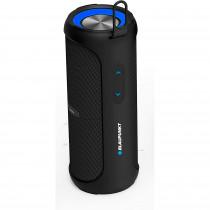 Blaupunkt BLP3730 Altavoz Bluetooth, Portátil, Estéreo, Potencia Total de Sonido 20W, Alcance 10m, Impermeable, Inalámbrico, Batería Recargable, Negro