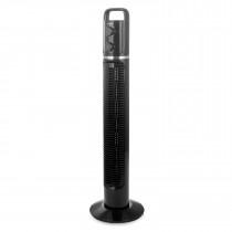Briebe FN-122988 Ventilador de Torre Silencioso, Temporizador, Oscilante, 3 Velocidades, 81cm, negro