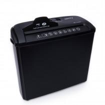 Camry CR1033 Destructora de Papel 5 hojas, trituradora de CD, DVD y tarjetas de crédito, recipiente separable 7 litros, encendido automático, negra