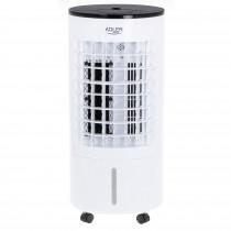 Adler AD 7921 Climatizador Evaporativo 3 en 1 Enfriador de Aire, Humidificador, Purificador de aire, 3 Modos de Ventilador, Oscilante, Depósito de agua 5,5 Litros, Air Cooler, Mando a Distancia, 300W