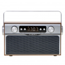 Camry CR1183 Radio Bluetooth, Diseño Retro, Sintonizador FM, 2 Altavoces 8 W