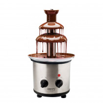 Camry CR4488 Fuente de Chocolate, Cuerpo de Acero Inoxidable, 3 pisos, Capacidad 650 ml, Temperatura Máxima 60°C, Base Antideslizante con Pies Ajustables, 320W
