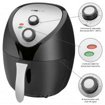 Clatronic FR 3699 H - Freidora sin aceite por aire caliente, capacidad 3,6 L, termostato y temporizador, 1400 W