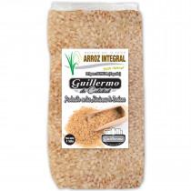 Guillermo Arroz Integral Redondo Marisma de Doñana para paellas y risottos 100% Natural 1000gr