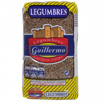 Guillermo Lentejas Pardina Legumbres Calidad Extra 1Kg