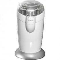 Bomann KSW 446 - Molinillo de café eléctrico, 120 W, color blanco y plata