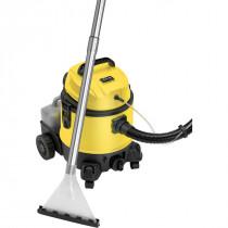 Briebe Lava-aspiradora con limpiador de tapiceria para coche, alfombras, colchones, aspiradora industrial en humedo seco