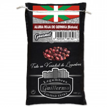 Guillermo Alubia Roja de Gernika Judía Bizkaia Gourmet Calidad Extra Saco 500gr