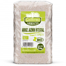 Guillermo Horeca Arroz Jazmin Integral Ecológico BIO Granel 5kg