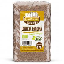 Guillermo Horeca Lenteja Pardina Franciscana Ecológica BIO Granel Calidad Extra 5kg