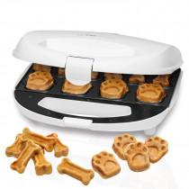 Clatronic DCM 3683 - Máquina para hacer galletas para perros y mascotas con forma de huella y hueso