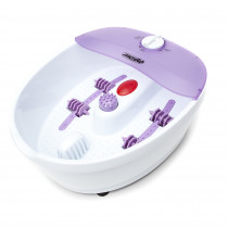 MESKO MS-2152 Masajeador de Pies con Agua, masaje de Burbujas y por vibración, Control de Temperatura por infrarrojos, Cepillos intercambiables, 70W