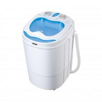 MESKO MS8053- Mini Lavadora Centrifugadora Portátil, 3Kg lavado ropa, 1Kg Centrifugado, perfecta Camping, Caravanas y autocaravanas